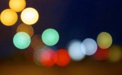 Rozmyte światło